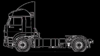 Шасси МАЗ 4371V2-540-001
