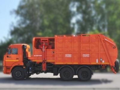 Мусоровоз с боковой загрузкой МК-4553-07