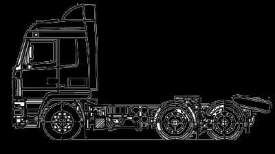 Шасси МАЗ 6312С5-576-012
