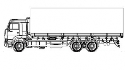 Бортовая машина МАЗ 6310Е9-520-031