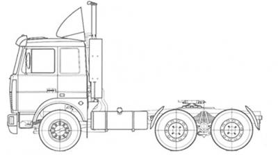 Тягач МАЗ-6430С9-520-021
