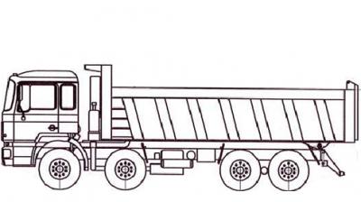 Самосвал МАЗ 6516Y9-520-000