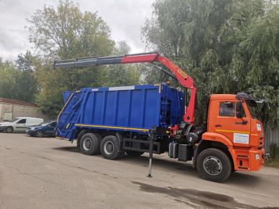 Мусоровоз БМК-7028-98 с КМУ