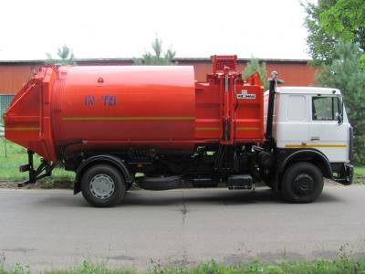 Мусоровоз с боковой загрузкой КО-449-35