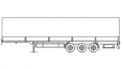Прицеп МАЗ 93866
