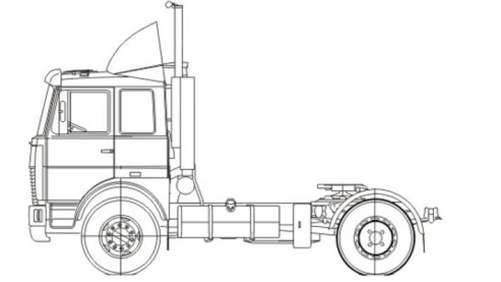 Тягач МАЗ-5440С5-8580-030