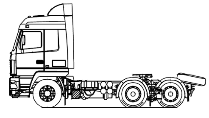 Шасси МАЗ 6312С3-527-011
