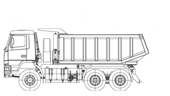 Самосвал МАЗ 6501Е9-582-000