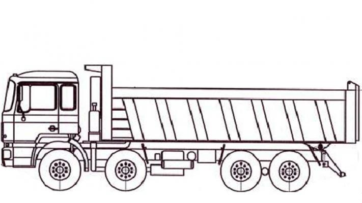 Самосвал МАЗ 6516Е8-520-000