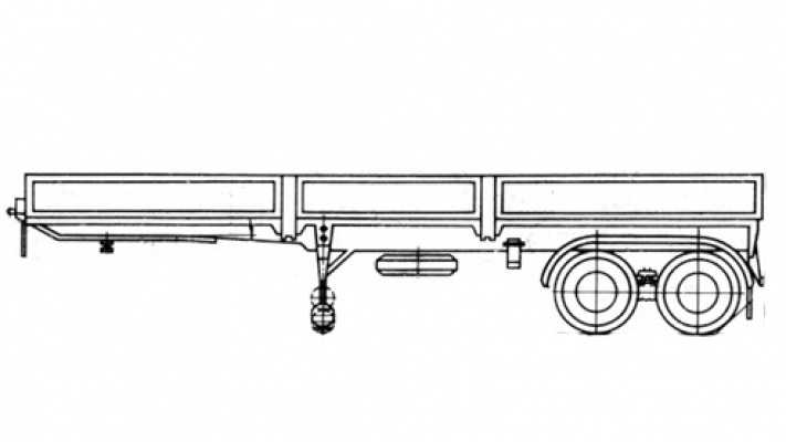 Прицеп МАЗ 938662-042