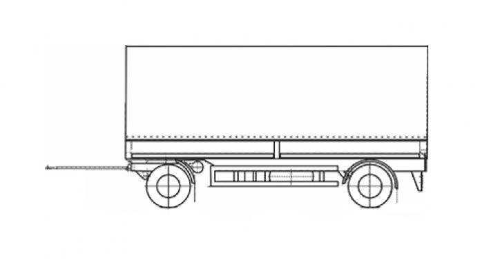 Прицеп МАЗ 870100-3010