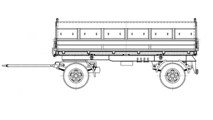 Прицеп МАЗ 856100